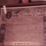 SL-O-5-15-8 Oswestry - Charter Of Charles II - 1674