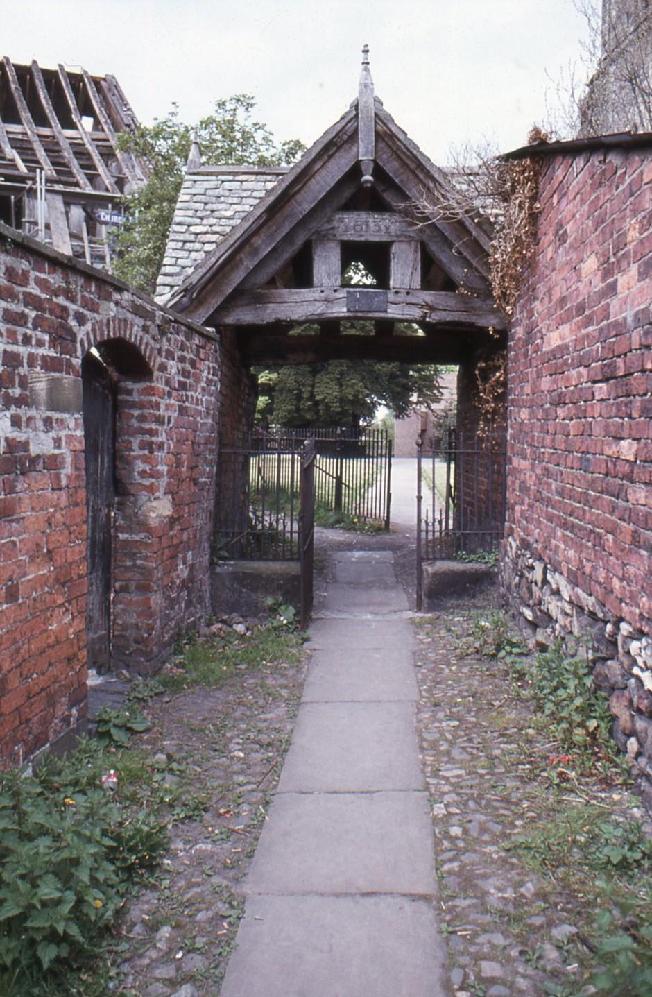SL-O-5-25-1 Oswestry - Upper Brook St - Griddle Gate
