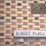 SL-O-5-62-1 Oswestry - Albert Place & Cheapside plaque 1879