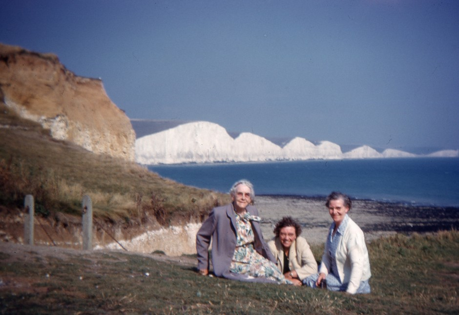SL-BNA-17 Mary Hignett Collection - Seven Sisters from Seaford Head - Aug 1960