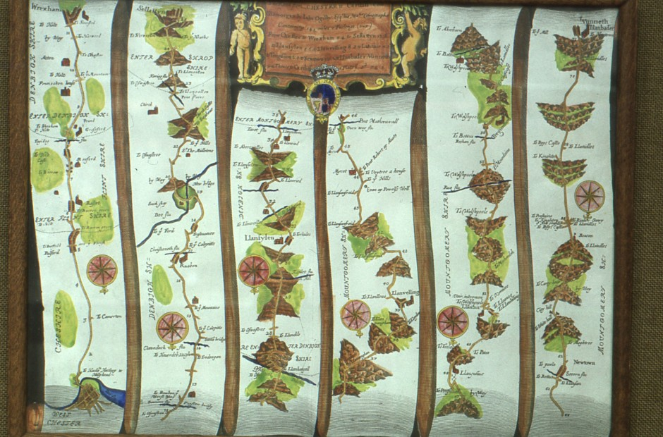 SL-O-5-12-27 - Strip Map of  Chester to Llanbedr (n.d)