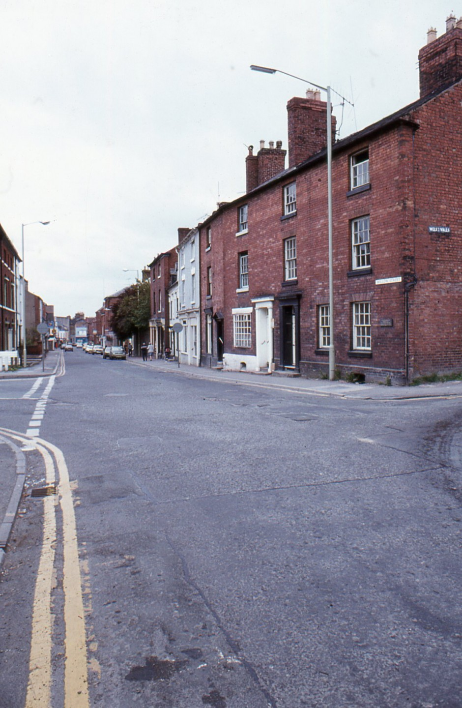 SL-O-5-18-1 Oswestry - Willow St - Looking East