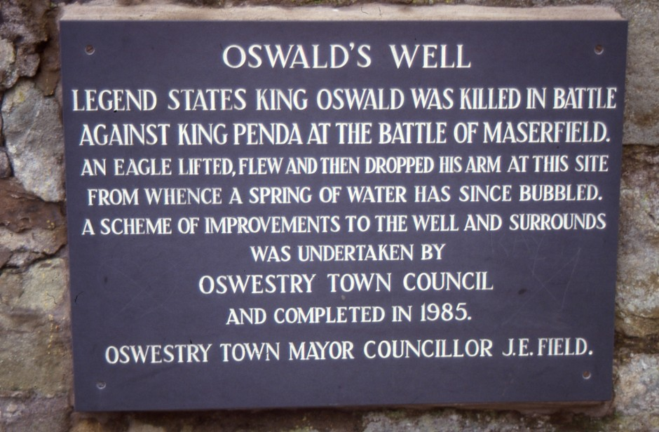 SL-O-5-29-1 Oswestry - St Oswald's Well