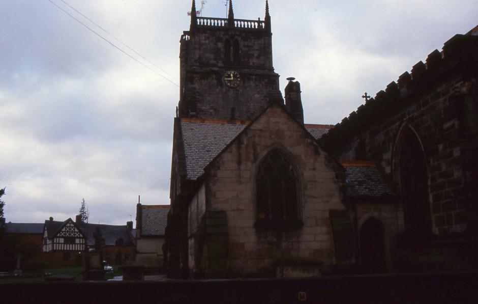 SL-O-5-6-23 Oswestry - Church St - St Oswalds Church