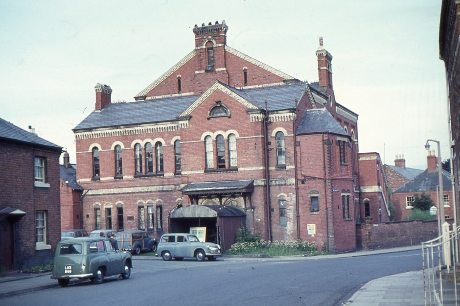 SL-O-5-65-1 Oswestry - Roft Street - Assembly Rooms c1950