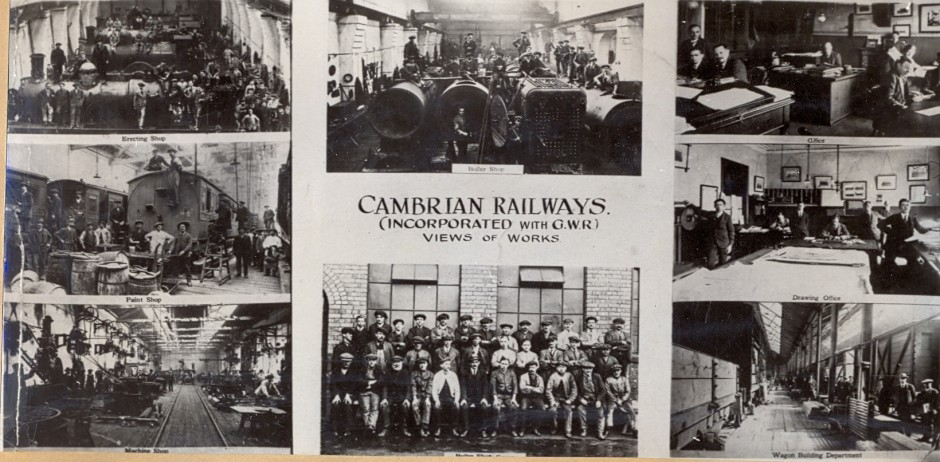 PH-O-5-16-11Cambrian Railway & view of works, c.1910