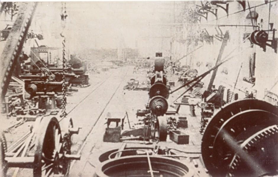 PH-O-5-16-19  Cambrian Railway - machine shop