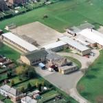 PH-E-8-3-3 Aerial view of Ellesmere School, Mar 1994