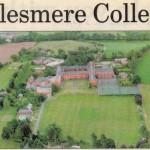 PH-E-8-3-4 Aerial view of Ellesmere College (Shrop Star 27 Apr 1995)