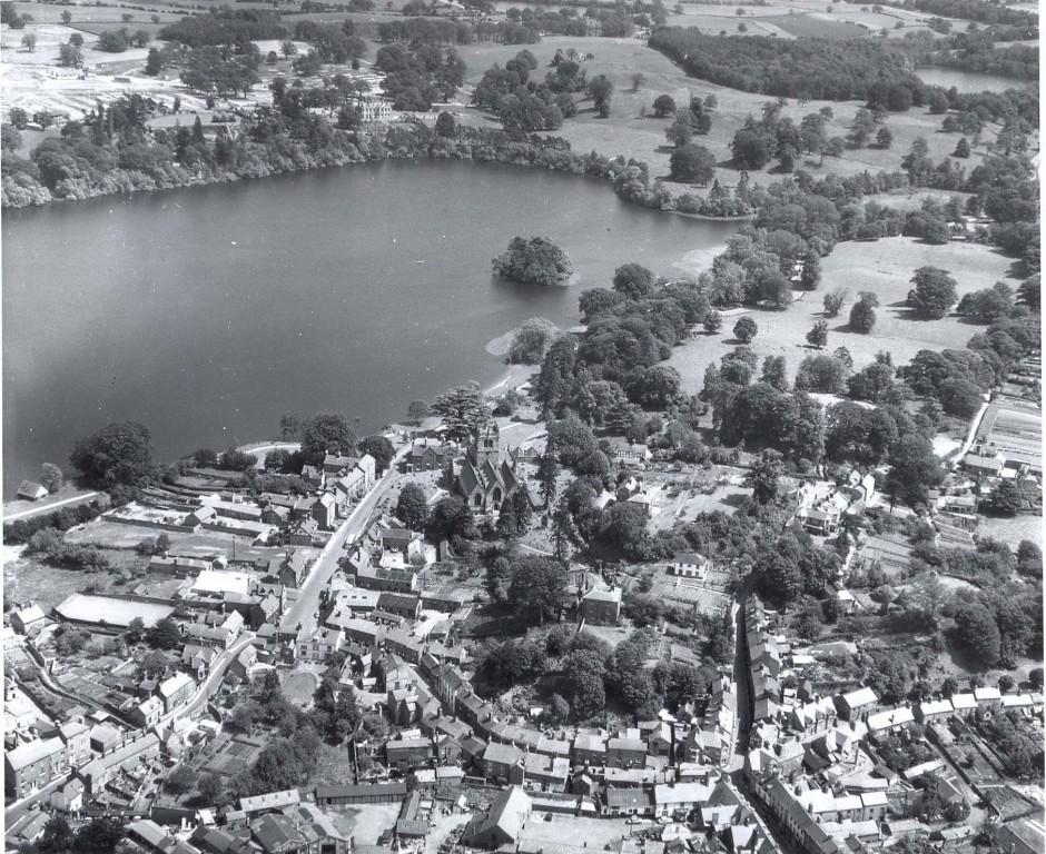 PH-E-8-3-7 Aerial view of Ellesmere, 27 June 1956