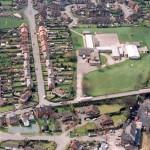 PHE8-3 - 1 Aerial view of Ellesmere, Mar 1994