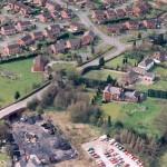 PHE8-3 - 2 Aerial view of Ellesmere, Mar 1994