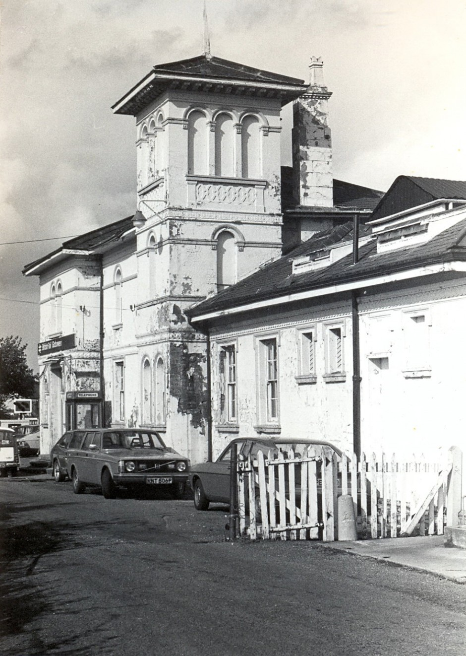 PH-G-1-13 Gobowen Station main building, early 1980s