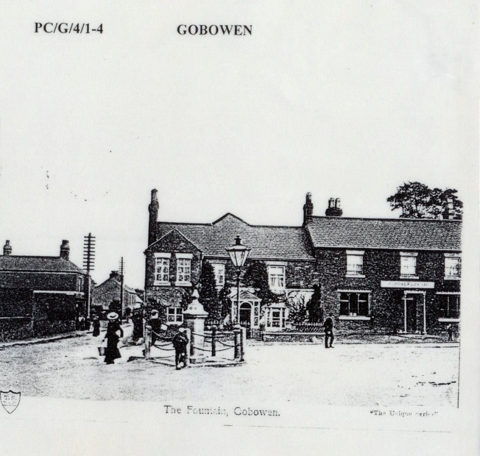 PH-G-1-3 The Fountain Gobowen c1900
