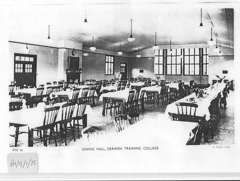 PH-G-1-75 Dining Room, Derwen Training College