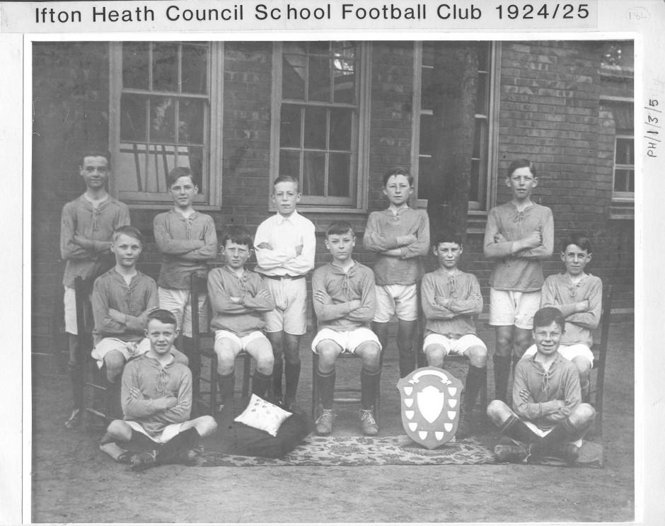 PH-I-3-5 Ifton Heath Council Football Club 1924-1925