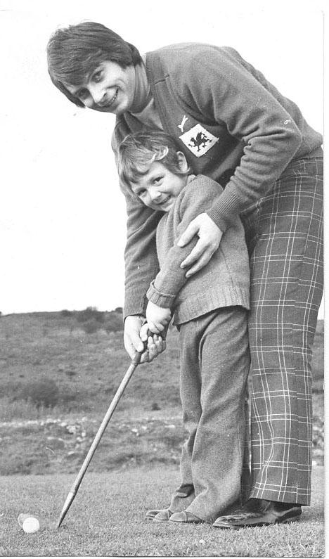PH-L-19-4 -  Peter Martin at Llanymynech Golf Club 1973