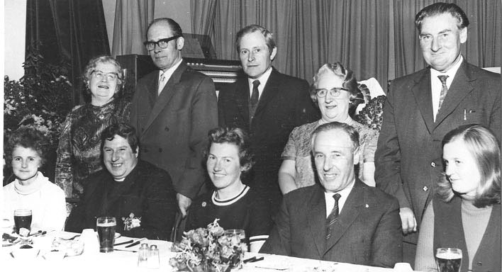 PH-L-19-8 - Llanymynech Harvest Supper 1973