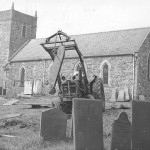 PH-L-42-1 - Clearing of churchyard meets with protest 1973