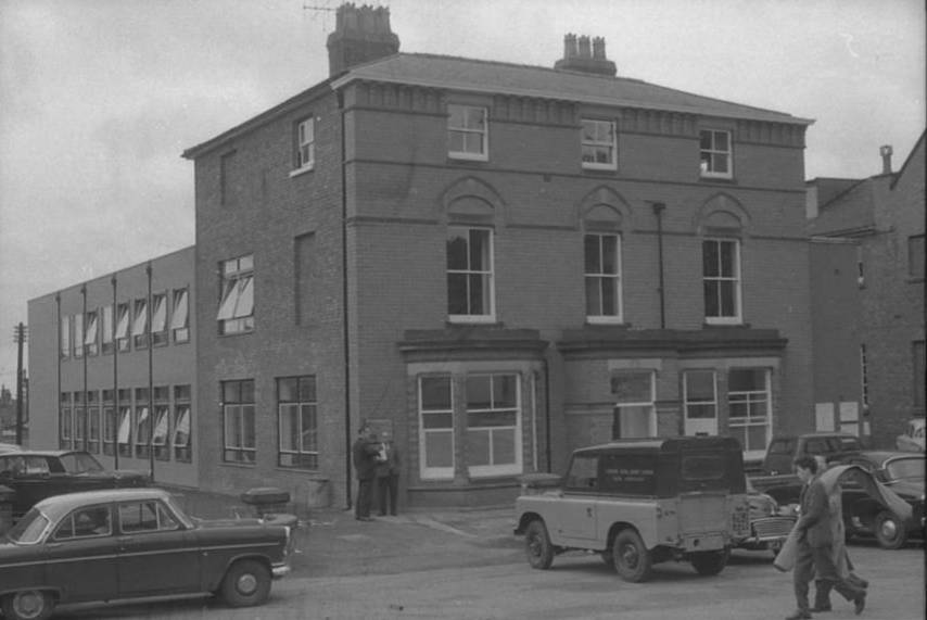 OSW-NEG-O-1-14 Arthur Street - Council Offices, 1963