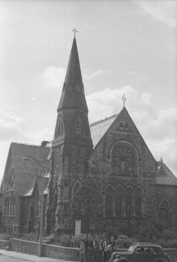 OSW-NEG-O-1-19 Beatrice Street - Methodist Church, 1964