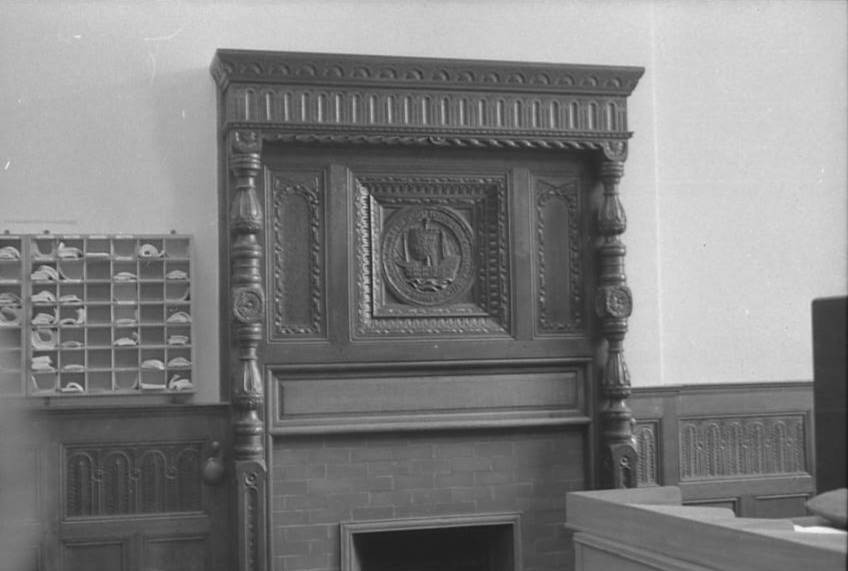 OSW-NEG-O-1-24 Brogyntyn - Interior & Exterior, 1963
