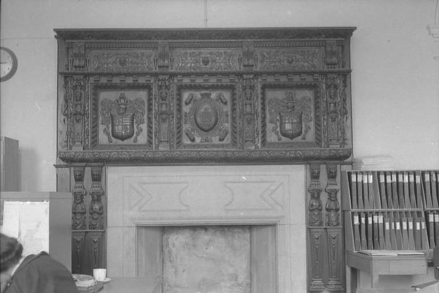 OSW-NEG-O-1-26 Brogyntyn - Interior & Exterior, 1963