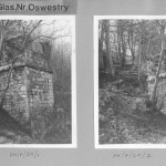 PH-P-29-1 & 2  - View of Offa's Dyke Marker, Pant Glas