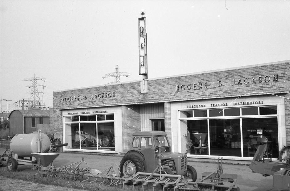 OSW-NEG-O-1-225 Whittington Road - Rogers & Jacksons Ltd, 1963