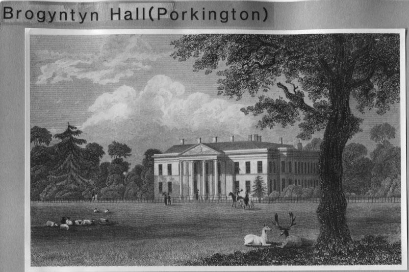 PH-B-28-15 - early copy of a sketch of Brogynton Hall
