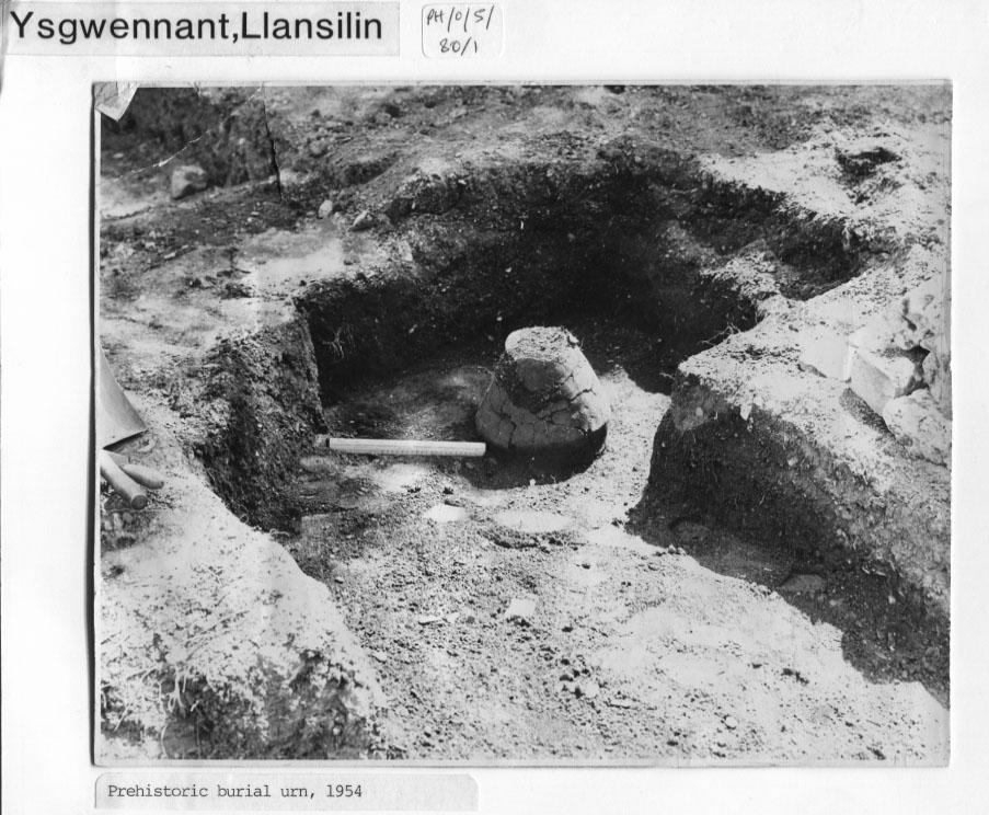 PH-L-17-8 - Preshistoric Burial Urn - 1954