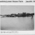 PH-L-43-4 - Floods surrounding Lower House Farm, Llandrinio, Jan 4 1925