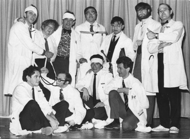 PH-O-5-13-13 - Orthopaedic Doctors in comedy revue - 1974