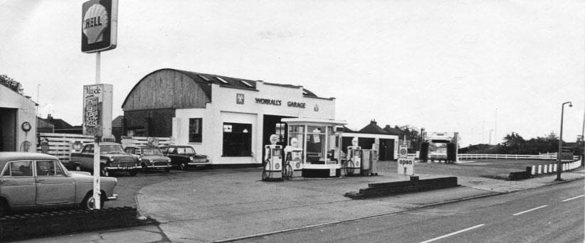 PH-O-5-17-1 - Worrall's Garage, Salop Rd