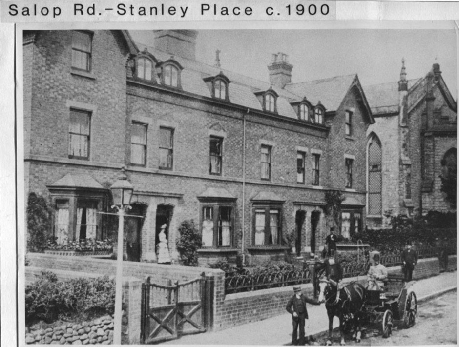 PH-O-5-17-17 - Stanley Place, Salop Road c1900