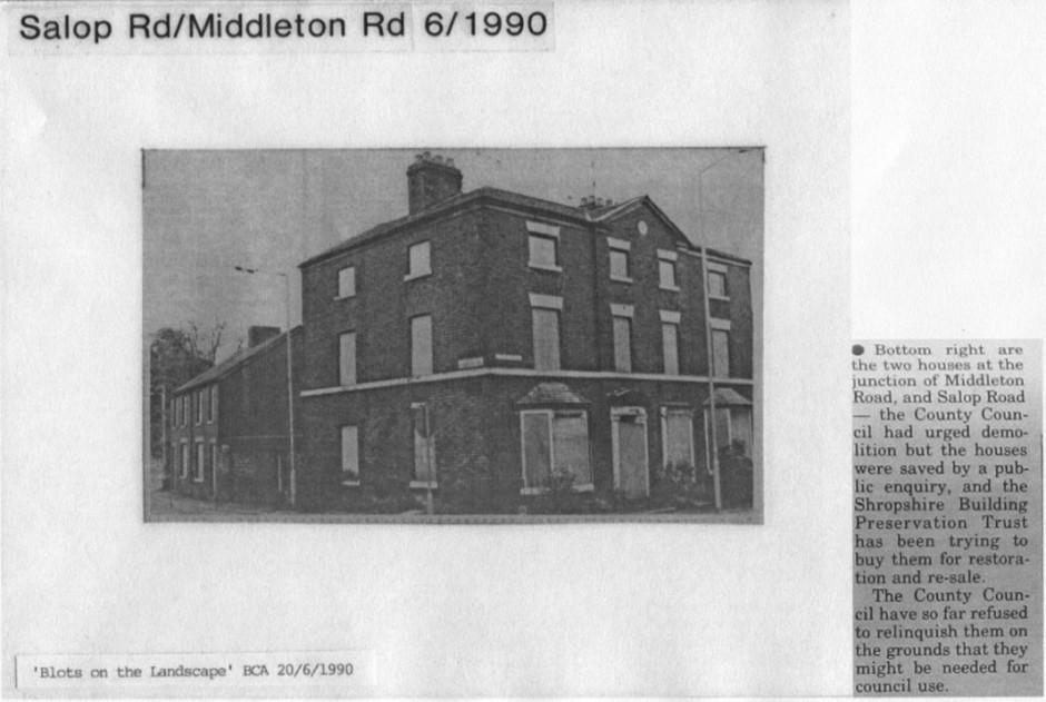 PH-O-5-17-2 - Corner of Salop Rd & Middleton Rd