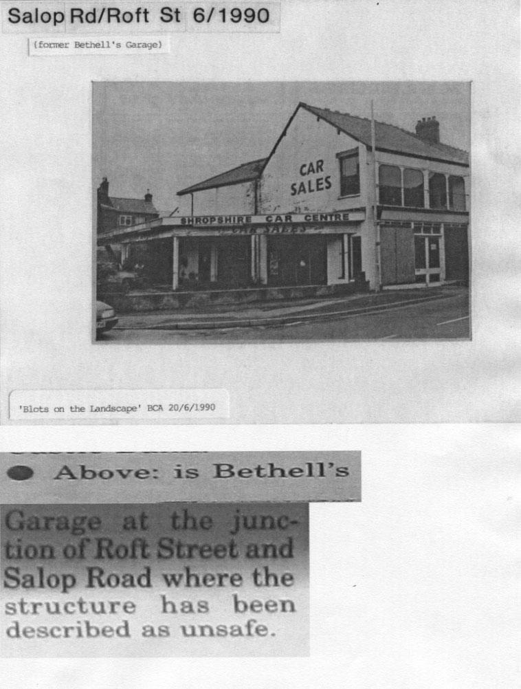 PH-O-5-17-3 - Bethell's Garage, corner of Roft St