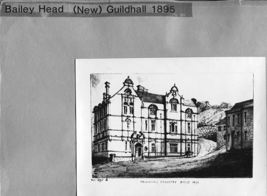 PH-O-5-2-38 - Sketch of Town Hall built 1892