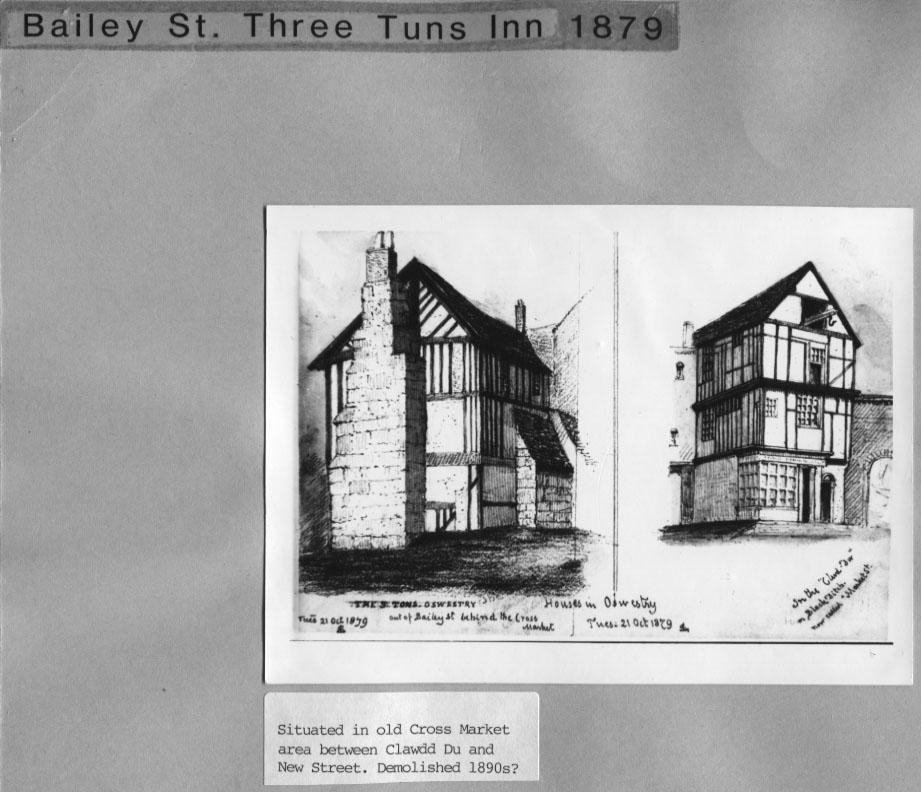 PH-O-5-3-17 - Three Tuns Inn - 1879
