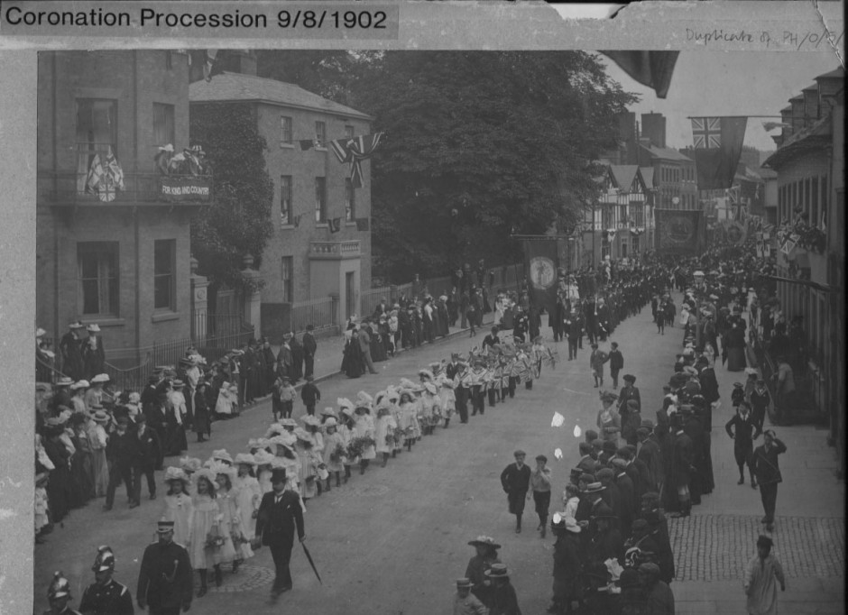 PH-O-5-6-106 - Mayor's Coronation Procession - 1902