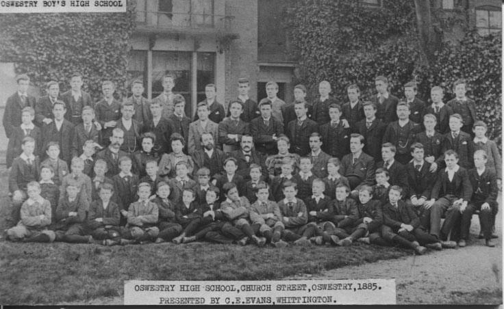 PH-O-5-6-24 - Boy's High School, Church Street, 1885