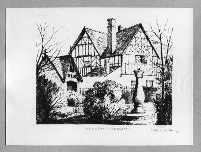 PH-O-5-6-97 - St Oswalds Churchyard - 1890