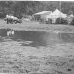 PH-G-7-3 - Sheep Dog Trials - flooded field - 1973
