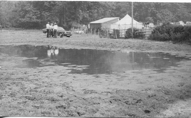 PH-G-7-3 - Sheep Dog Trials - flooded field - 1973