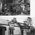 PH-G-7-7 - Gelli Farm at Nantyr - after fire - 1973