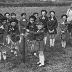 PH-K-5-1 - 1st Kinnerley Brownies in Peel's Plantation - 1973