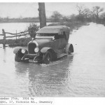 PH-M-7-2 - Floods on Oswestry Road -  Dec 1924