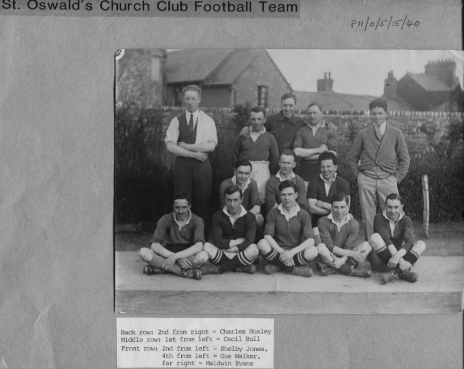 PH-O-5-6-113 - St Oswald's Church Club Football Team