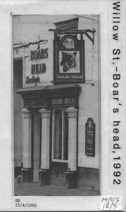 PH-O-5-18-5 - Boar's Head, Willow Street 1992