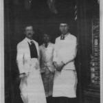PH-O-5-18-7 - Morris & Jones - butchers, Willow Street 1920's